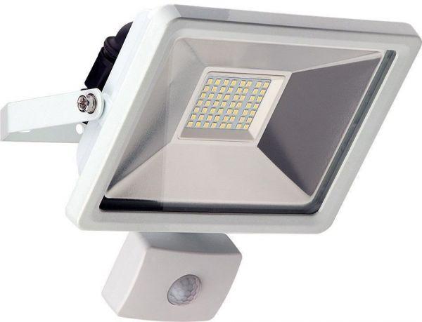LED Außen-Flutlichtstrahler mit Bewegungsmelder, 30W